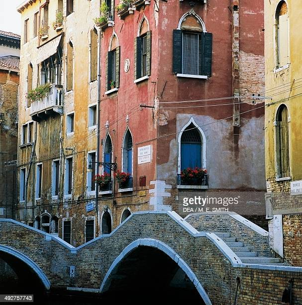 Home of the composer Antonio Vivaldi Fondamenta del Dose Venice Veneto Italy