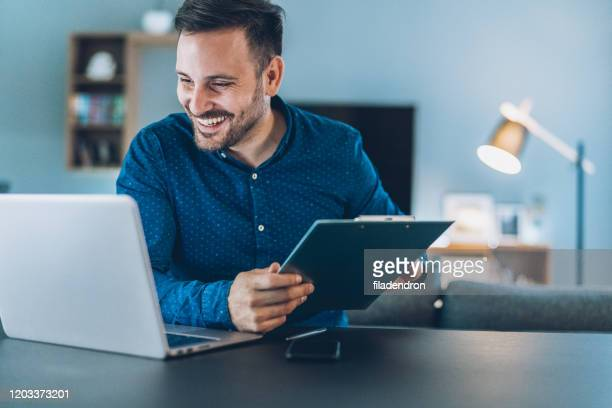 home office - blogging stock pictures, royalty-free photos & images