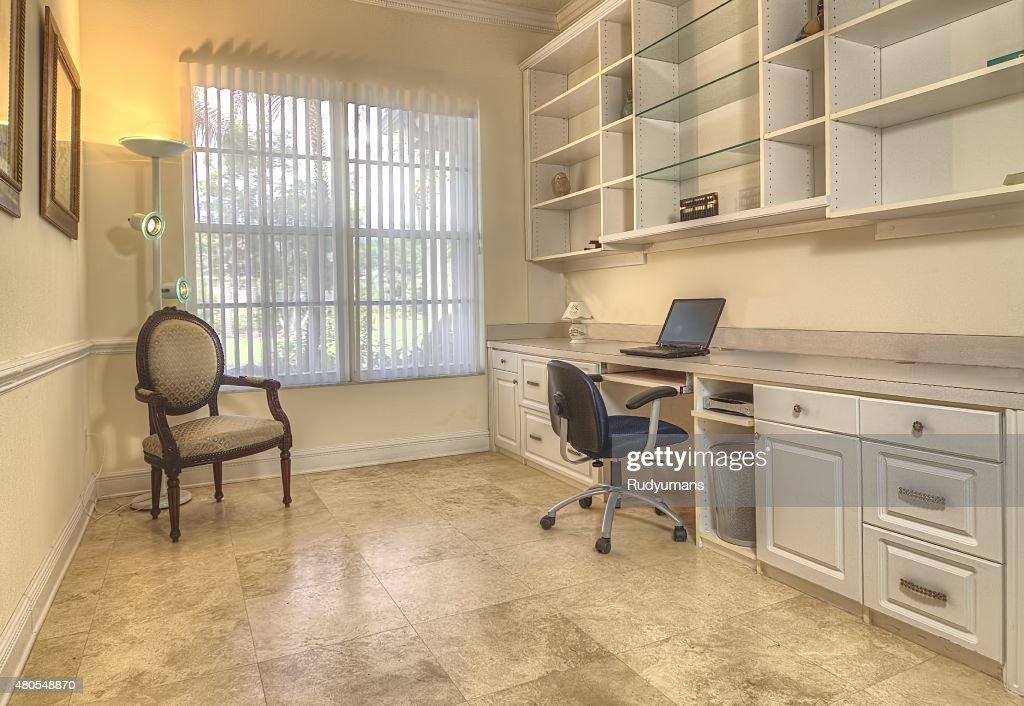 Escritório em casa : Foto de stock