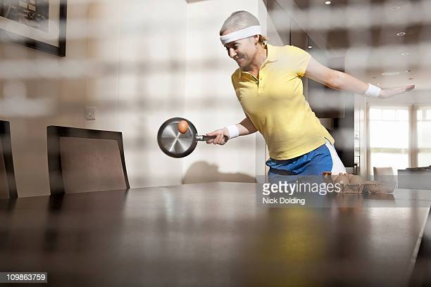 home olympics 13 - funny ping pong stock pictures, royalty-free photos & images