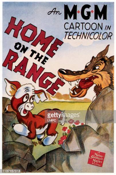 Home On The Range poster poster art 1940