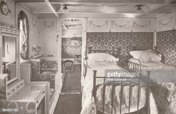 A Home on the Rolling Deep Aboard a Royal Mail 1914 From The Beautiful Rio De Janeiro by Alured Gray Bell [William Heinemann London 1914] Artist...