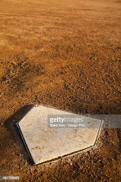 Home Plate In A Baseball Diamond