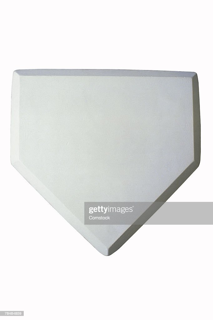 Home plate : Stock Photo
