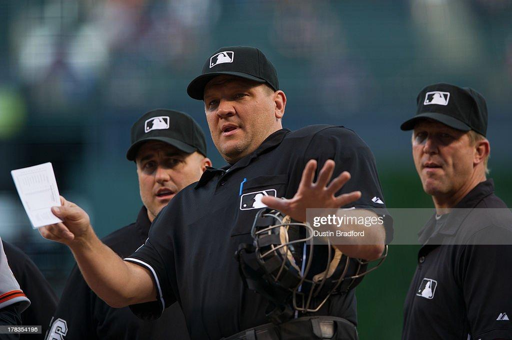 San Francisco Giants v Colorado Rockies : News Photo