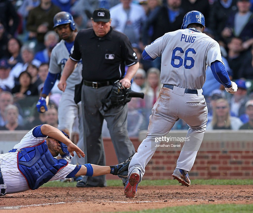 Los Angeles Dodgers v Chicago Cubs