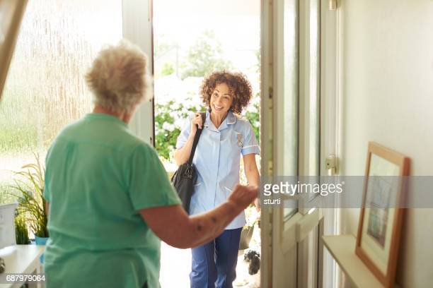home recovery - social services stock photos and pictures