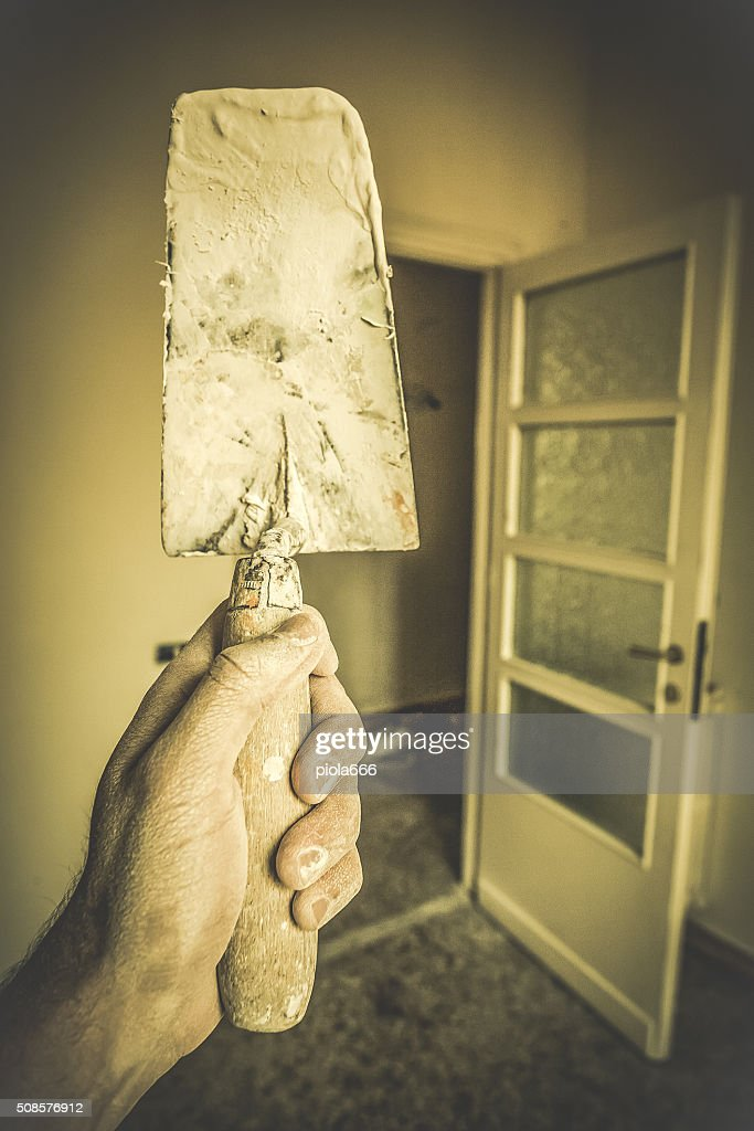 Home Renovation Works : Stock Photo