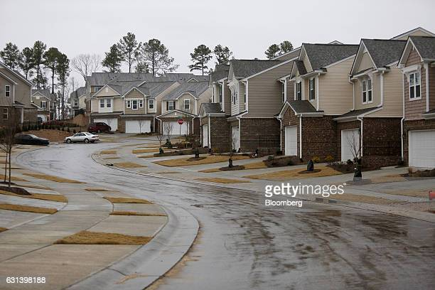 KB Home residential buildings stand in the Glencroft neighborhood of Cary North Carolina US on Friday Jan 6 2017 KB Home is scheduled to release...
