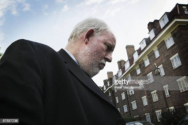 Home Secretary Charles Clarke leaves home on May 5, 2006 in London. Prime Minister Tony Blair will re-shuffle his cabinet after the Labour party lost...
