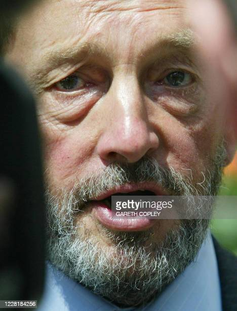 Home Secretary David Blunkett visits Sheffield's Winter Gardens 05 July prior to a meeting of his counterparts from France Germany Italy and Spain in...