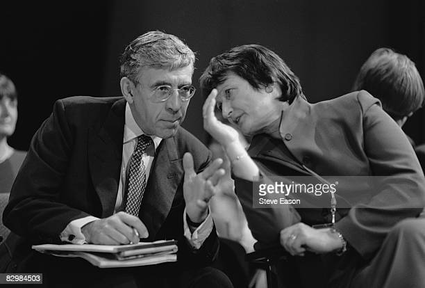 Home Secretary Jack Straw with Tessa Jowell during the Labour Party Conference in Bournemouth 27th September 1999
