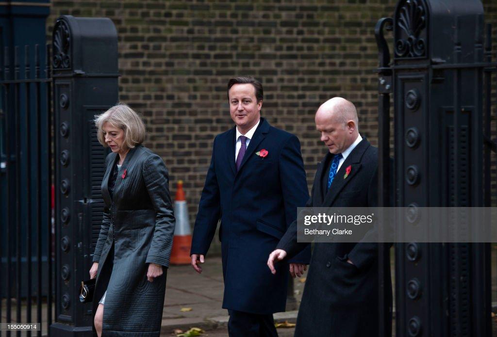 On Eve Of British Pm Camerons Visit >> Home Secretary Theresa May British Prime Minister David