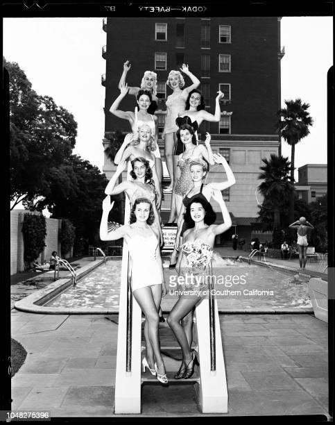 Home show finalists 29 July 1952 Karlyne AbeleSuzanne AlexanderMarilyn ArmorLynn BernayLee BergquistBess DavisJeanne EvansDonna FosterJoyce...