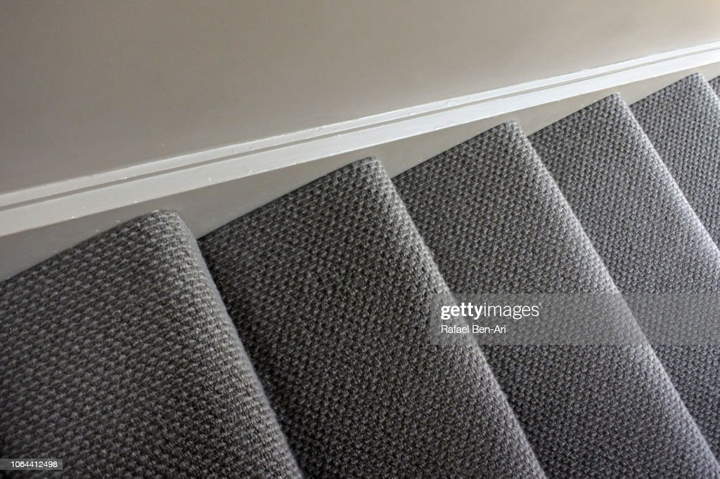 Home Staircase Carpet : Stock Photo