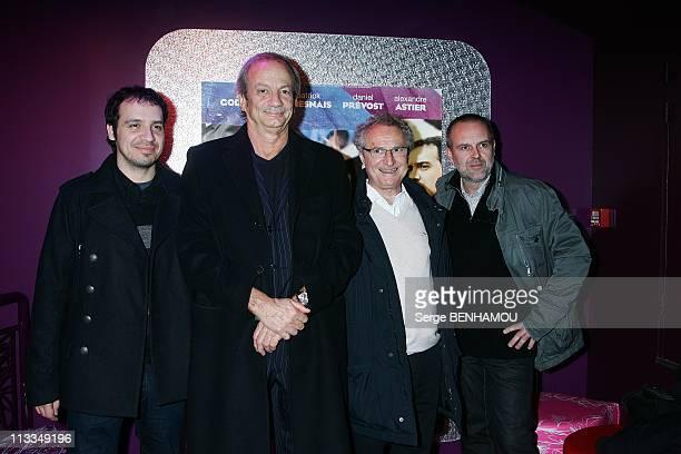 'Home Sweet Home' Premiere In Paris France On November 18 2008 Alexandre Astier Patrick Chesnais Daniel Prevost Didier Lepecheur