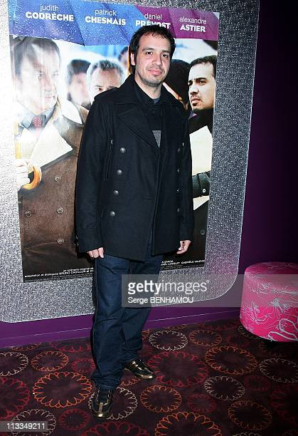 'Home Sweet Home' Premiere In Paris France On November 18 2008 Alexandre Astier