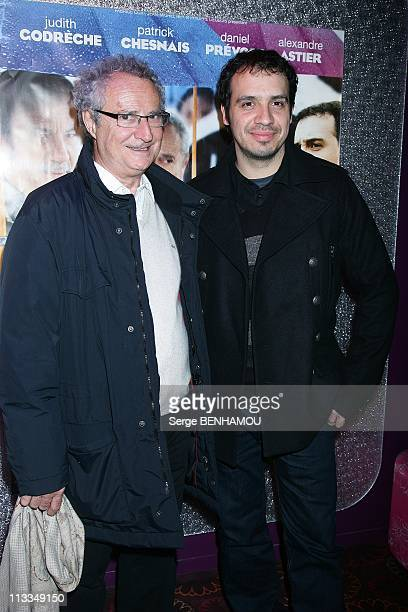 'Home Sweet Home' Premiere In Paris France On November 18 2008 Daniel Prevost and Alexandre Astier