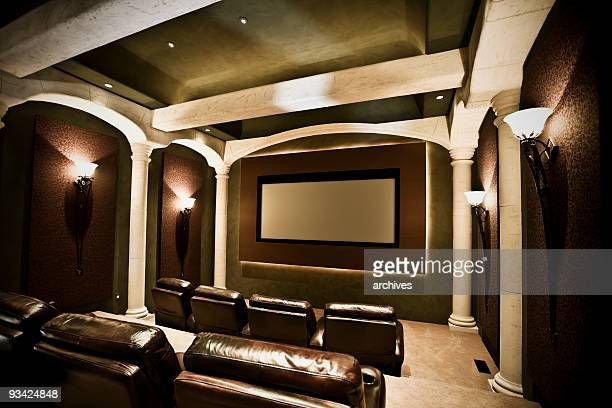 home theater - private stock pictures, royalty-free photos & images