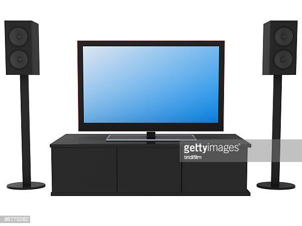 home theater system - 2000 2009 stock pictures, royalty-free photos & images