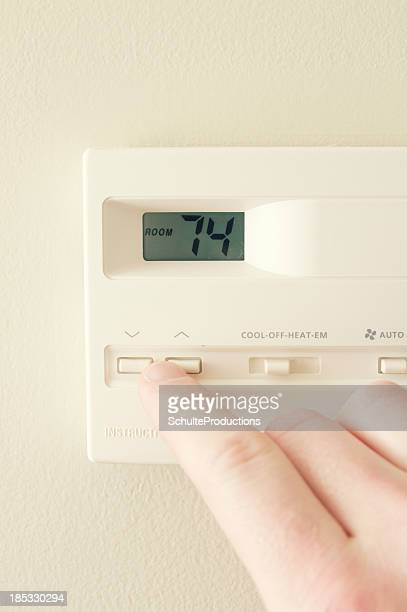 Home Thermostat Adjustment
