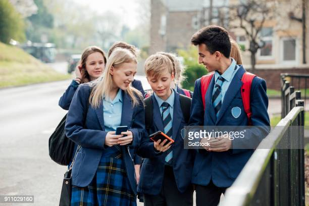 home time - teenagers only stock pictures, royalty-free photos & images