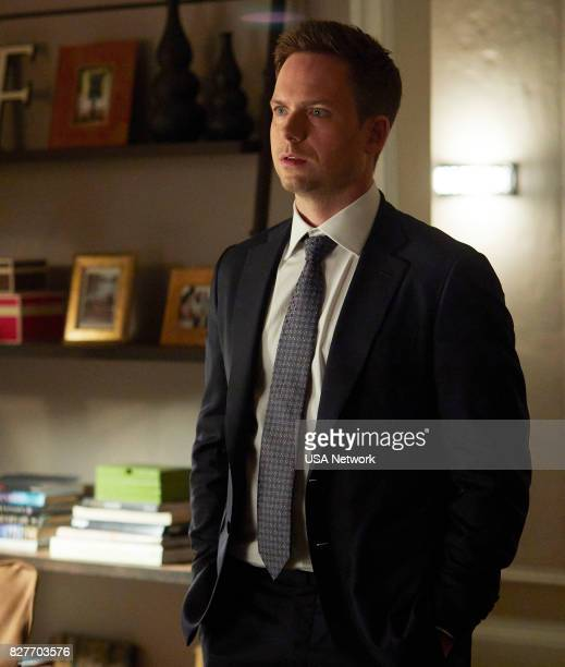 """Home to Roost"""" Episode 706 -- Pictured: Patrick J. Adams as Michael Ross --"""