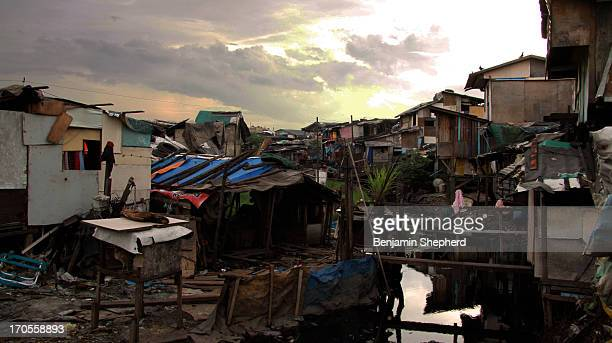 Home to the many people who live on the smokey mountain dumpsite.