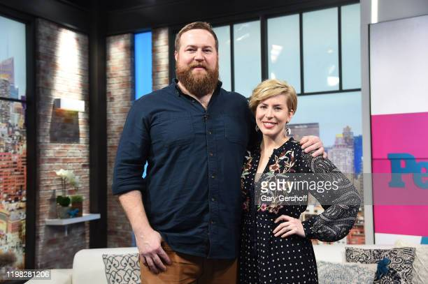 HGTV Home Town stars Ben Napier and Erin Napier visit People Now on January 08 2020 in New York City
