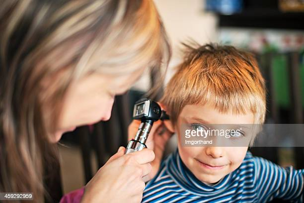 Home visit medical ear examination
