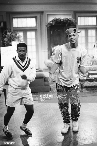 AIR 'Homeboy Sweet Homeboy' Episode 5 Pictured Alfonso Ribeiro as Carlton Banks Will Smith as William 'Will' Smith Photo by Chris Haston/NBCU Photo...