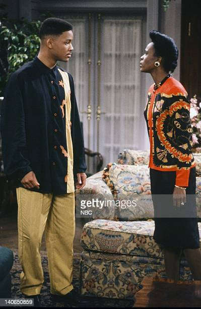 AIR Homeboy Sweet Homeboy Episode 5 Pictured Will Smith as William 'Will' Smith Janet Hubert as Vivian Banks Photo by Chris Haston/NBCU Photo Bank