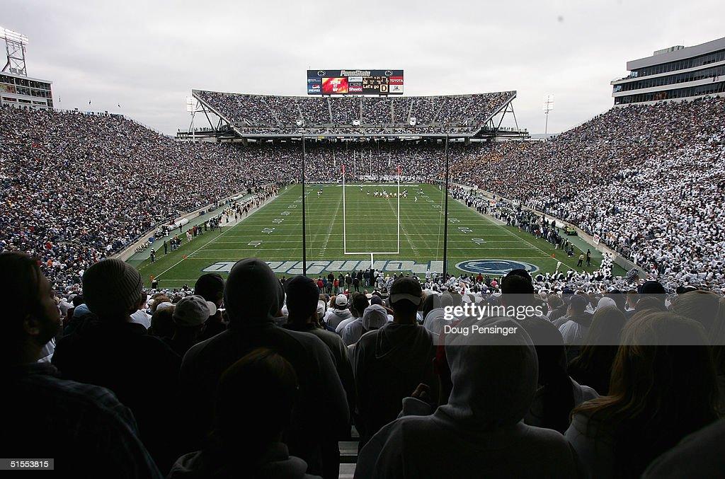 Iowa v Penn State : News Photo