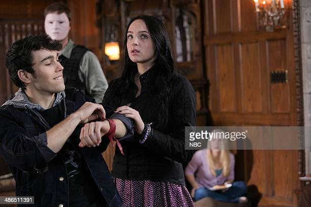 CRISIS Homecoming Episode 105 Pictured Max Schneider as Ian Martinez Stevie Lynn Jones as Beth Ann Gibson