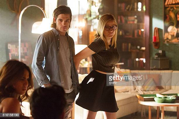 THE MAGICIANS Homecoming Episode 110 Pictured Jason Ralph as Quentin Olivia Taylor Dudley as Alice
