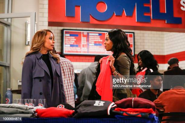 MARLON 'Homecoming' Episode 208 Pictured Essence Atkins as Ashley Wayne Bresha Webb as Yvette