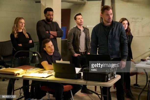 "Homecoming"" Episode 522 -- Pictured: Tracy Spiridakos as Hailey Upton, LaRoyce Hawkins as Kevin Atwater, Jesse Lee Soffer as Jay Halstead, Jon Seda..."
