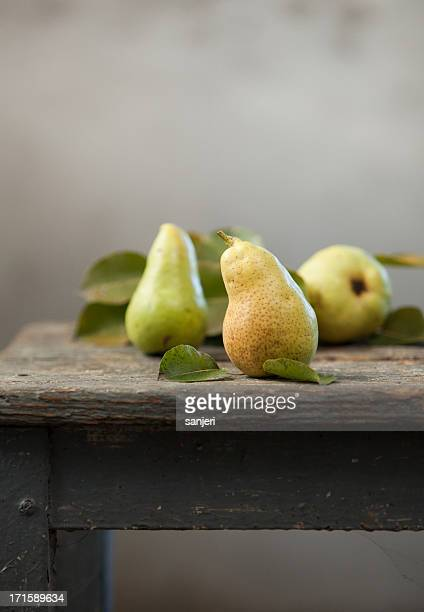 homegrown pears - ripe stock pictures, royalty-free photos & images