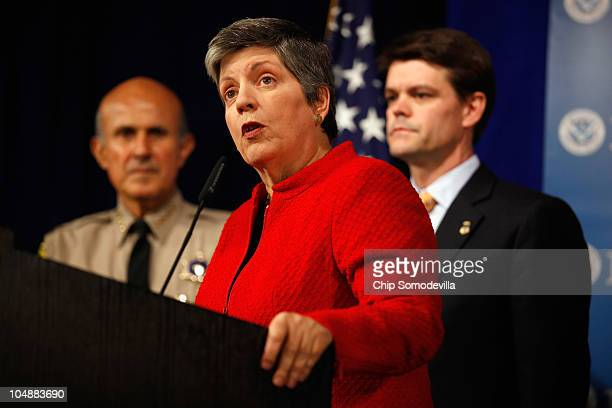 Homeland Security Secretary Janet Napolitano announces unprecedentedly high numbers of illegal alien and criminal alien removals from the United...