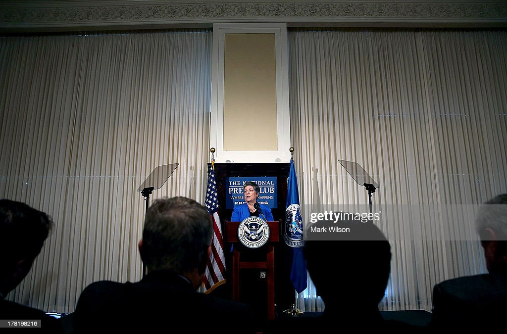 Homeland Security Secretary Napolitano Delivers Farewell Address