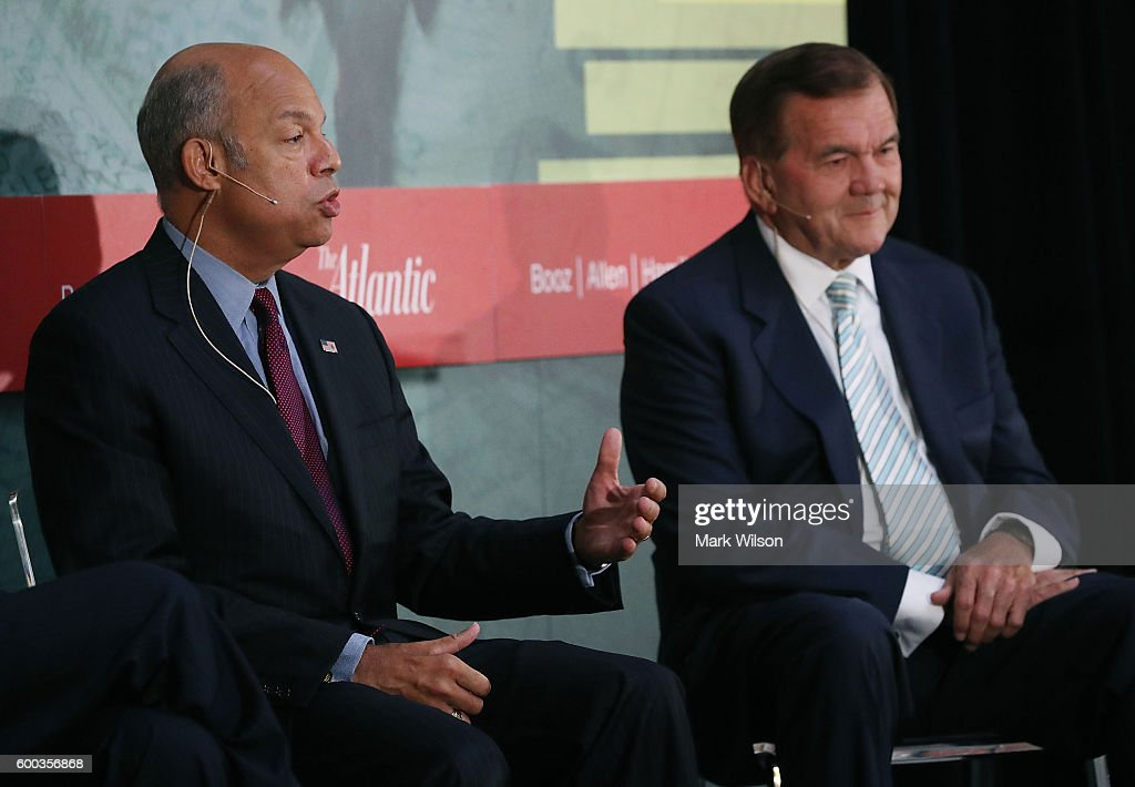 Homeland Security Secretary Jeh Johnson Leads Discussion On U.S. Security Since 9/11