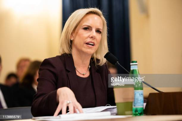 Homeland Security Secretary Kirstjen Nielsen testified to the Congress on Wednesday morning The main line of questioning from the committee's...