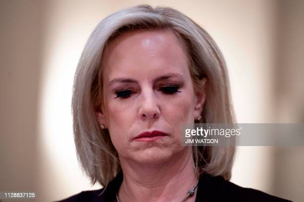 Homeland Security Secretary Kirstjen Nielsen testifies before the House Homeland Security Committee on border security on Capitol Hill in Washington...