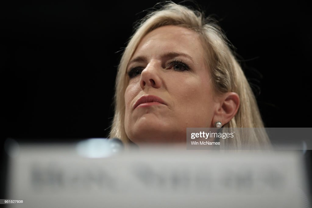 Homeland Security Secretary Kirstjen Nielsen Testifies At House Budget Hearing