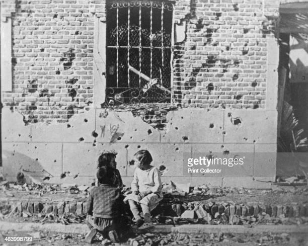 Homeless children, Barcelona, Catalonia, Spain, Spanish Civil War, c1936-c1939.