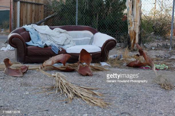 homeless in las vegas - homeless shelter stock pictures, royalty-free photos & images