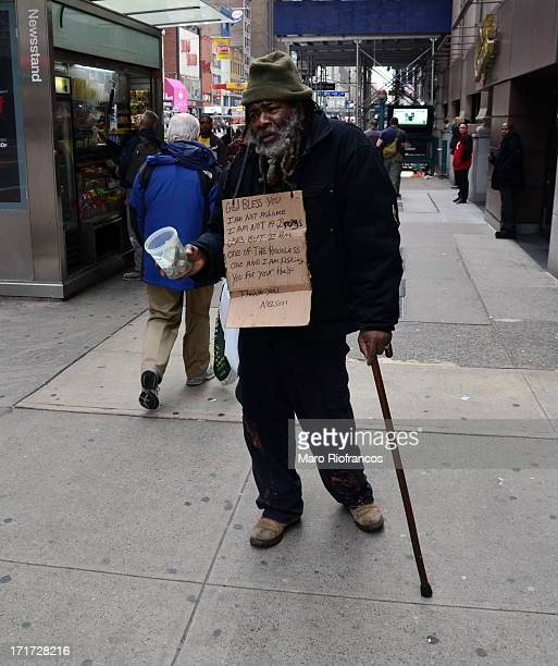 CONTENT] Homeless man begging