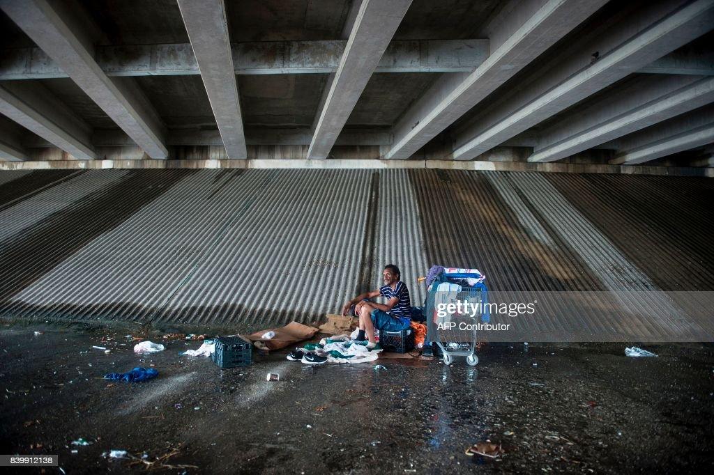 US-WEATHER-STORM-HARVEY : News Photo