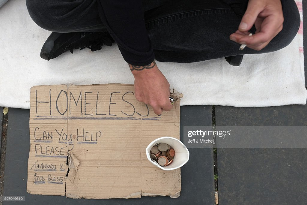 Poverty In The UK 2015 : News Photo