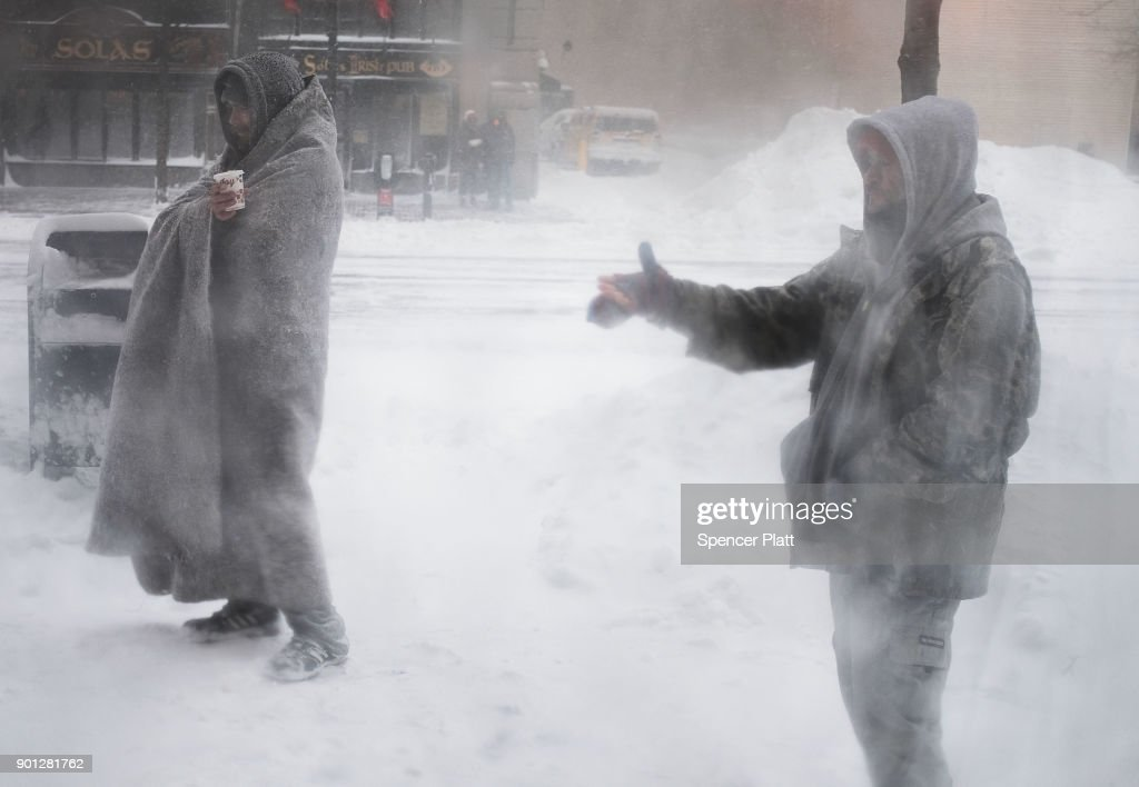 Massive Winter Storm Brings Snow And Heavy Winds Across Large Swath Of Eastern Seaboard : News Photo
